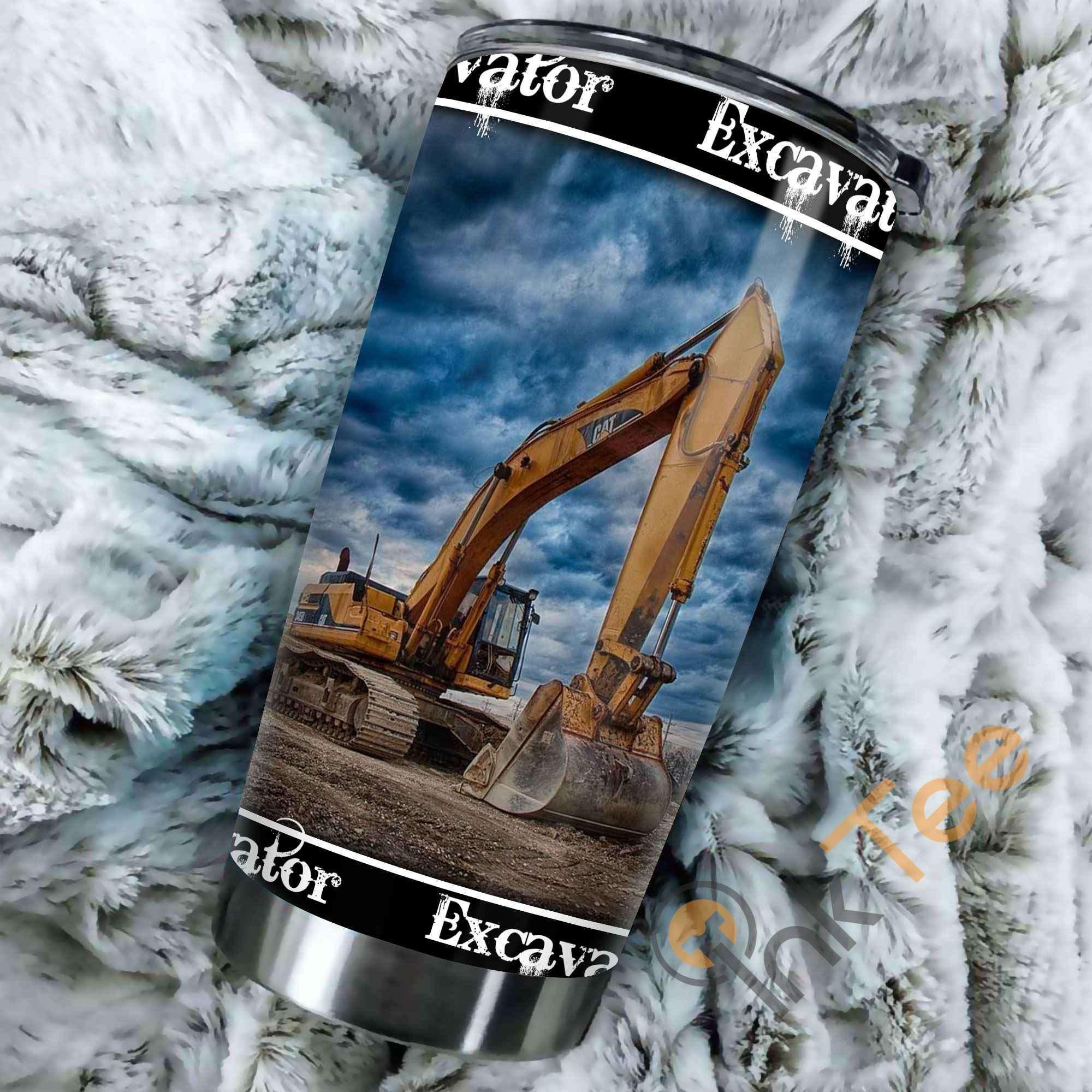 Heavy Equipment Amazon Best Seller Sku 3559 Stainless Steel Tumbler