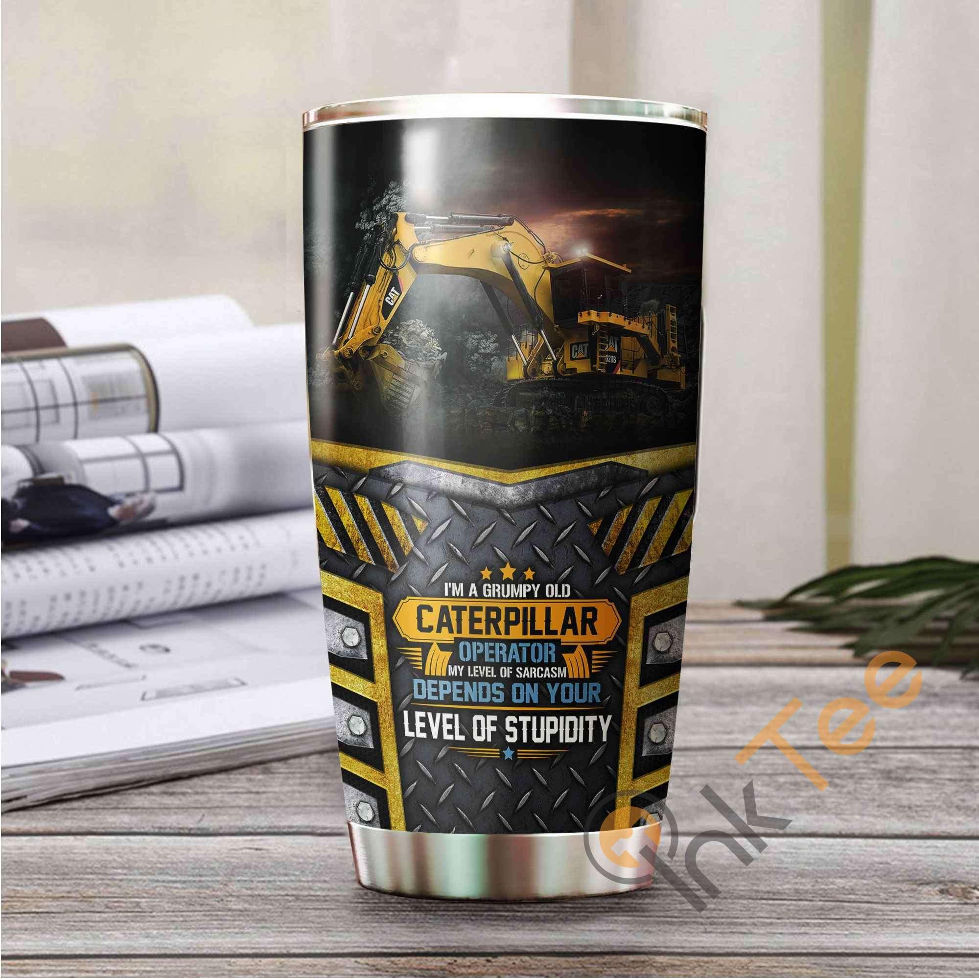 Heavy Equipment Amazon Best Seller Sku 3560 Stainless Steel Tumbler