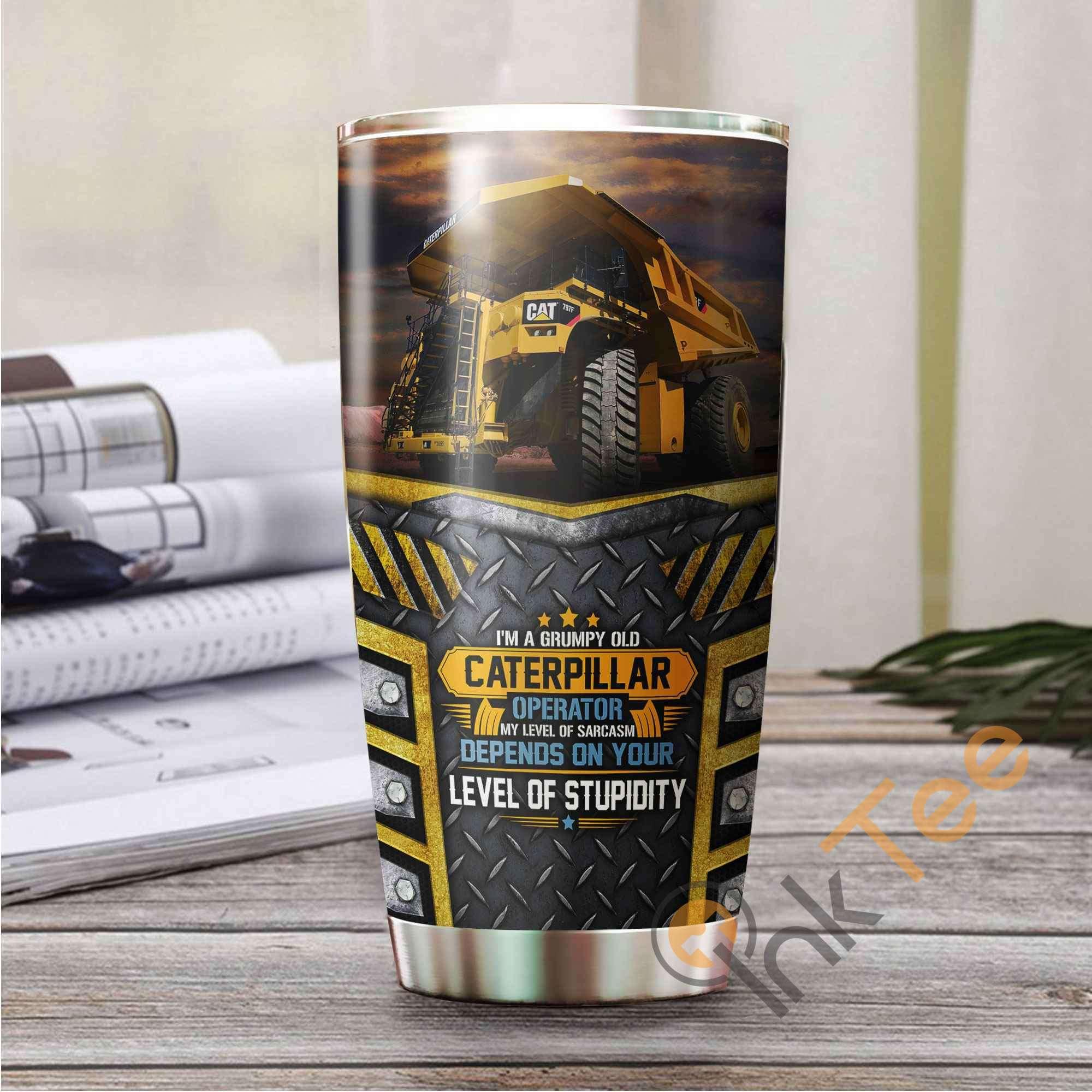 Heavy Equipment Amazon Best Seller Sku 3565 Stainless Steel Tumbler