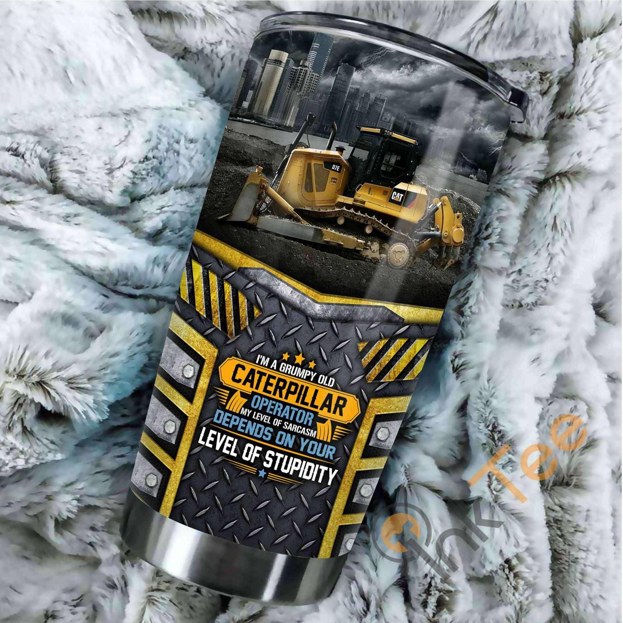Heavy Equipment Amazon Best Seller Sku 3593 Stainless Steel Tumbler