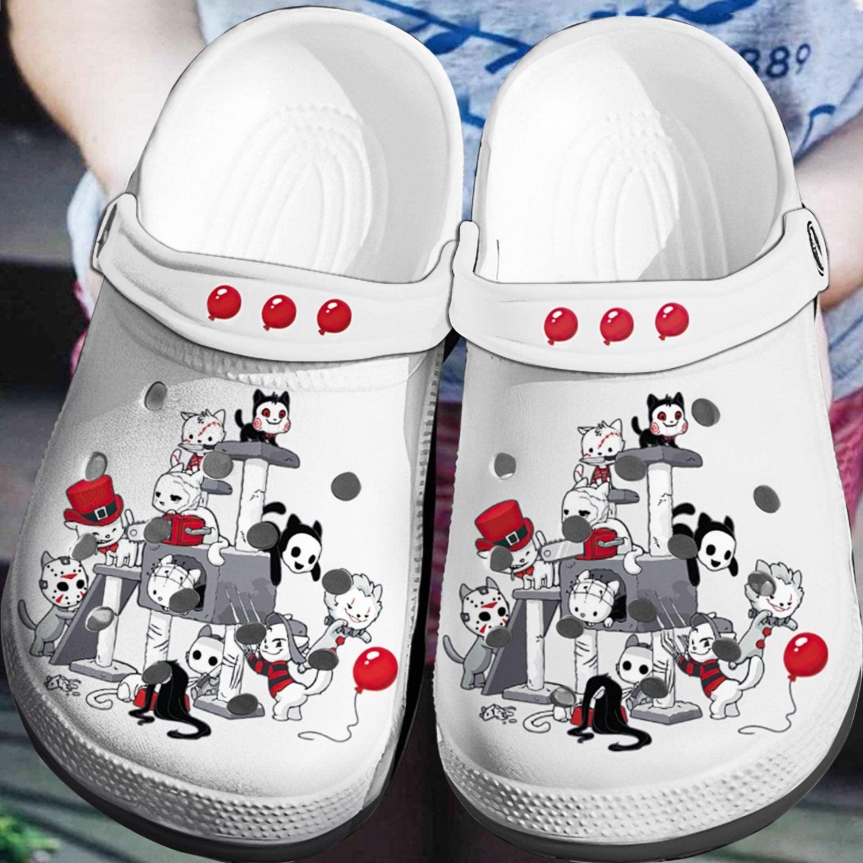 Horror Crocs Clog Shoes