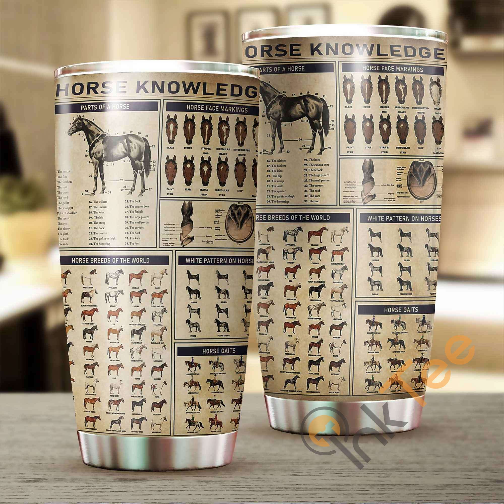 Horse Knowledge Amazon Best Seller Sku 3050 Stainless Steel Tumbler