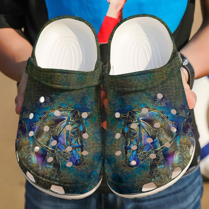 Horse Mystery Crocs Clog Shoes