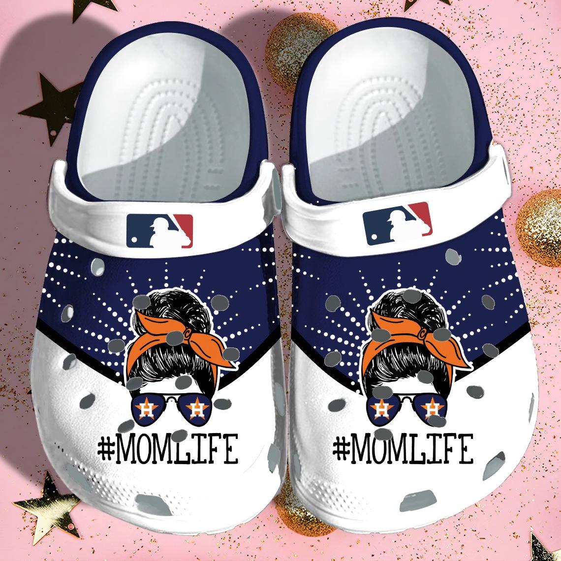 Houston Astros Crocs Clog Shoes