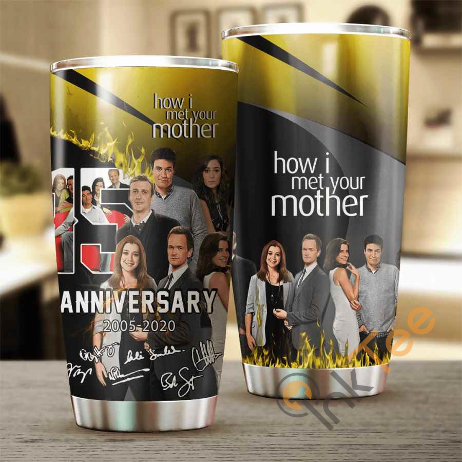 How I Met You Mother 15 Years Anniversary Cup Amazon Best Seller Sku 3969 Stainless Steel Tumbler