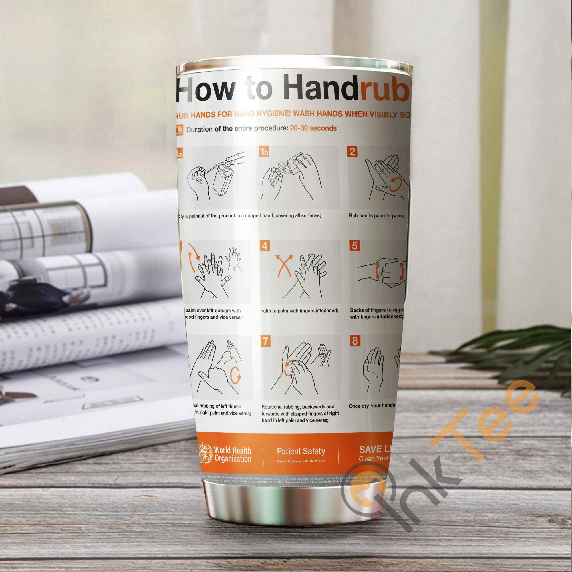 How To Handrub? Amazon Best Seller Sku 3214 Stainless Steel Tumbler