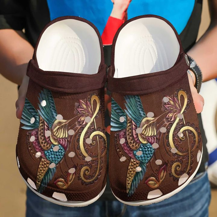 Hummingbird Beautiful Crocs Clog Shoes