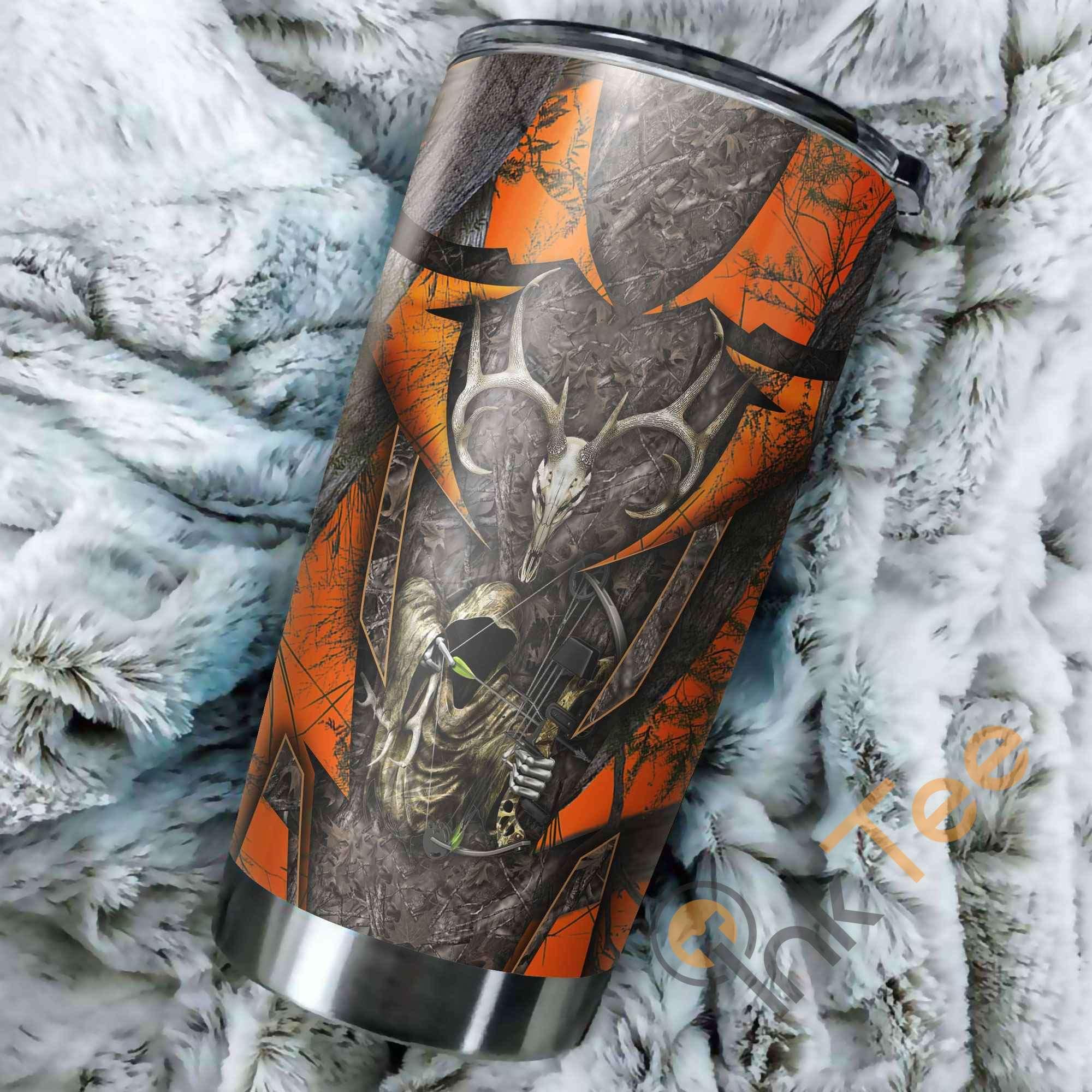 Huntaholic Camo Amazon Best Seller Sku 2927 Stainless Steel Tumbler