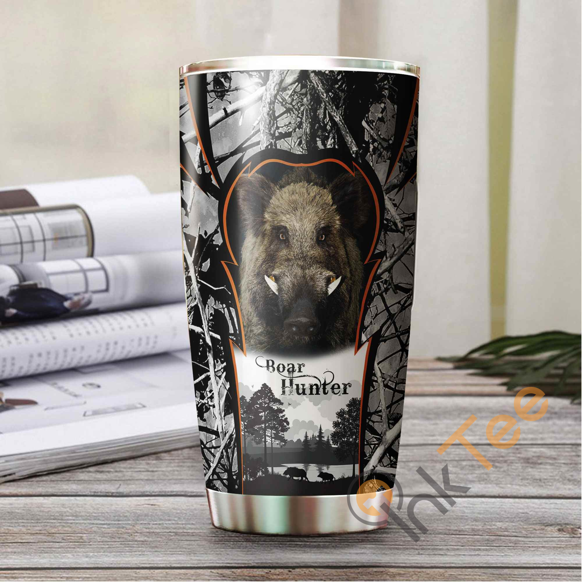 Hunter Camo Amazon Best Seller Sku 3823 Stainless Steel Tumbler