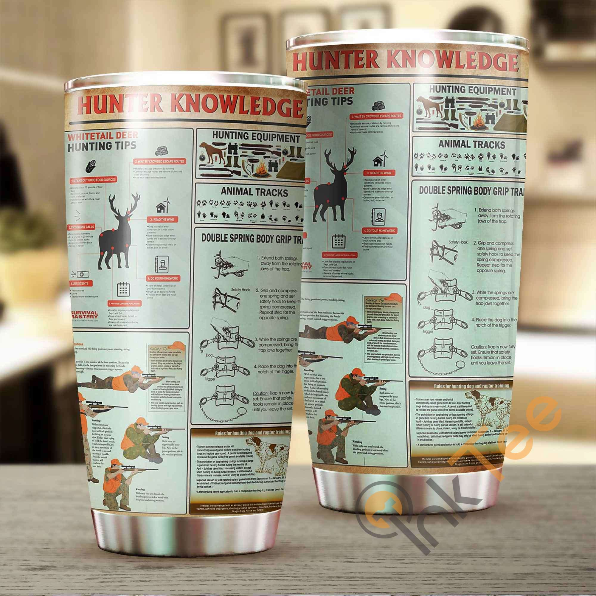 Hunter Knowledge Stainless Steel Tumbler