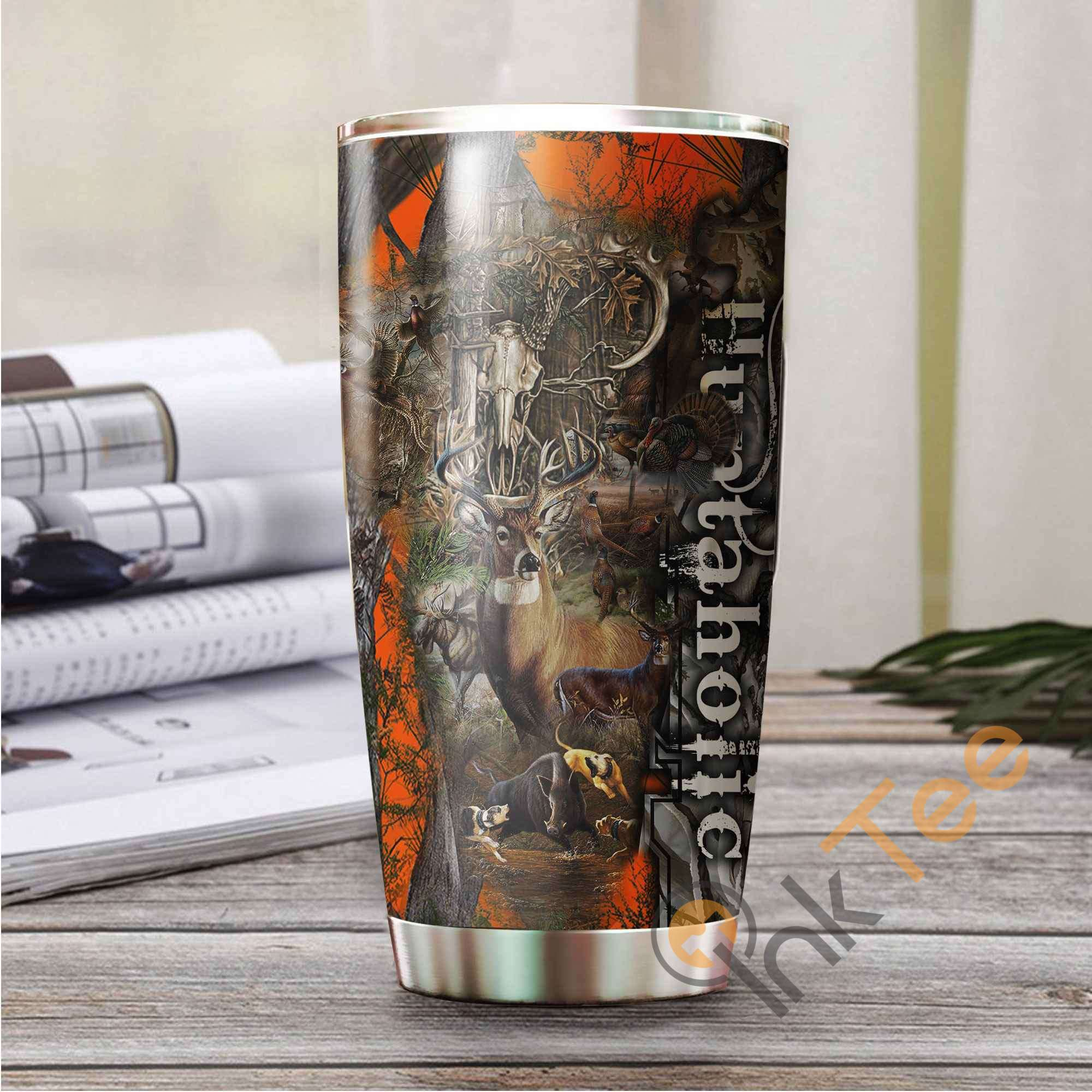 Hunting Camo Amazon Best Seller Sku 3542 Stainless Steel Tumbler