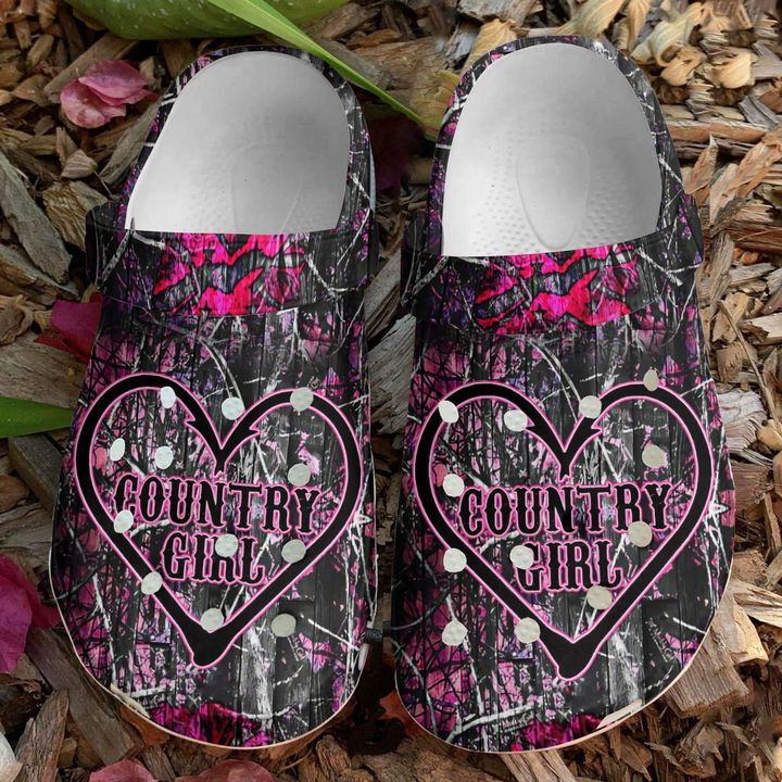Hunting Country Girl Crocs Clog Shoes