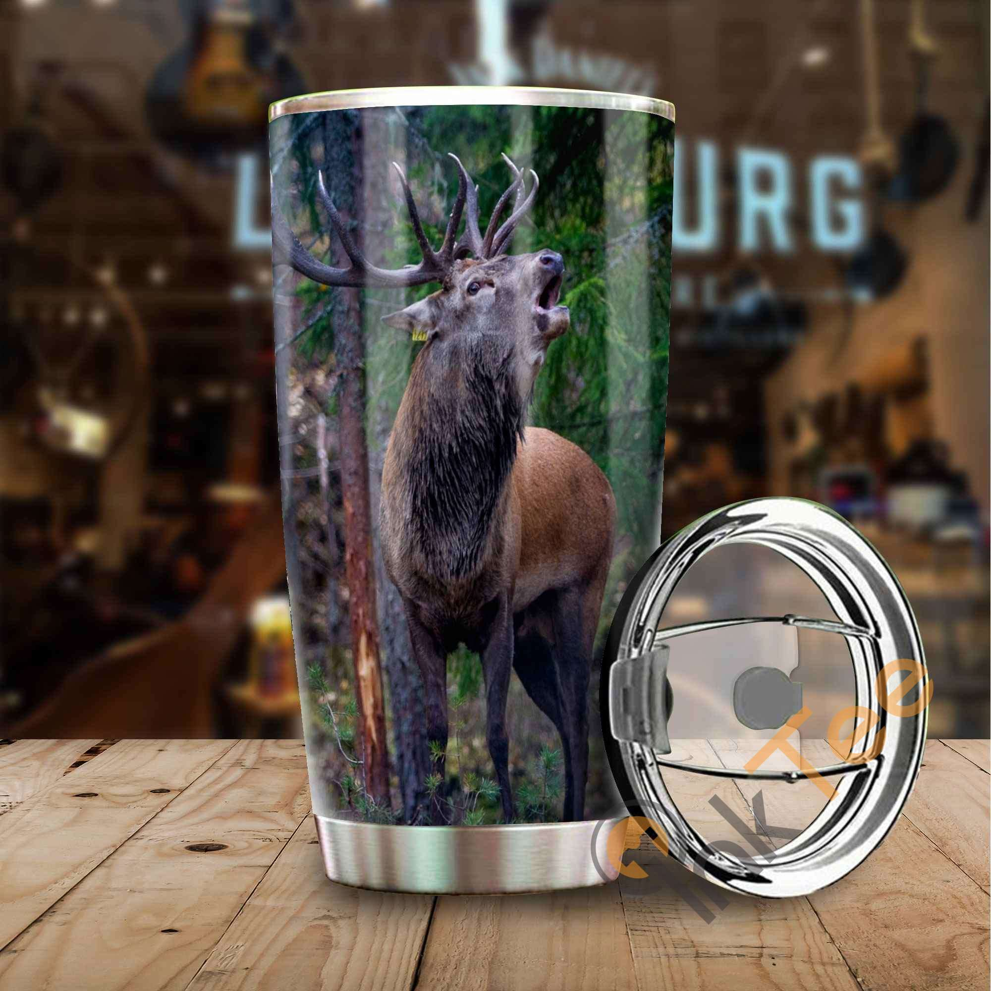 Hunting Deer Amazon Best Seller Sku 2930 Stainless Steel Tumbler