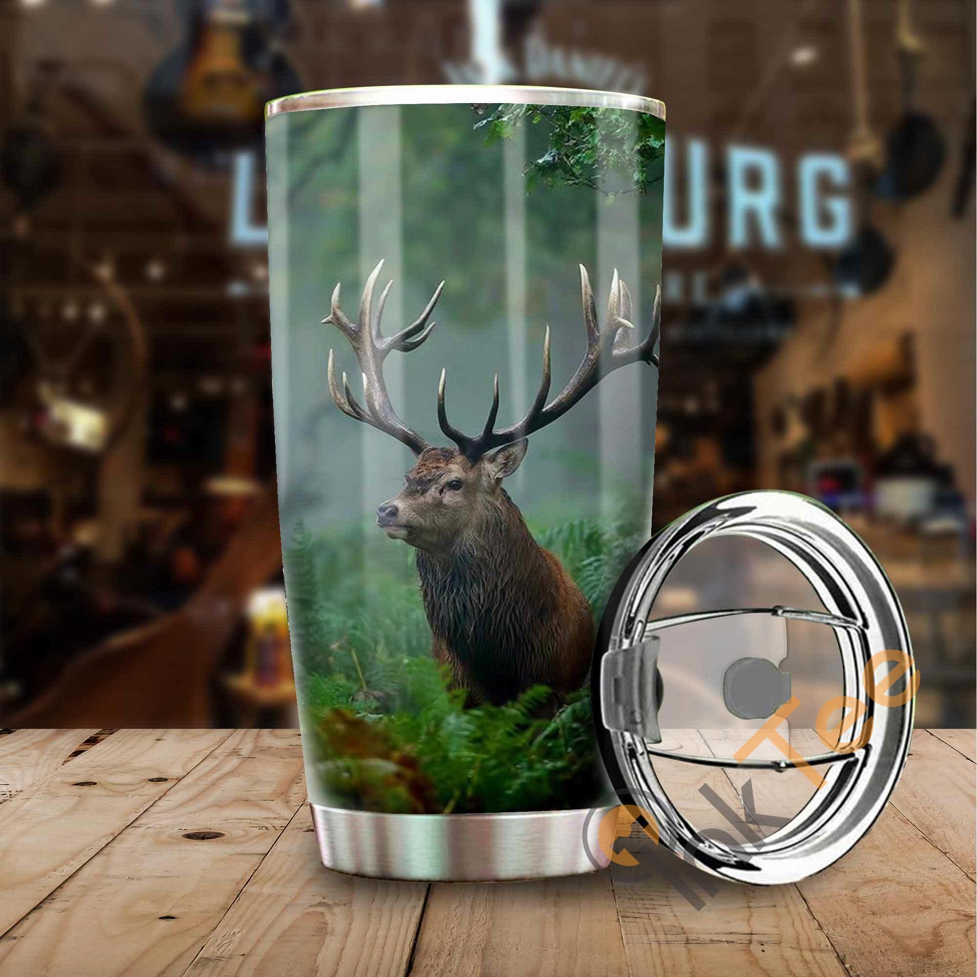 Hunting Deer Amazon Best Seller Sku 3205 Stainless Steel Tumbler