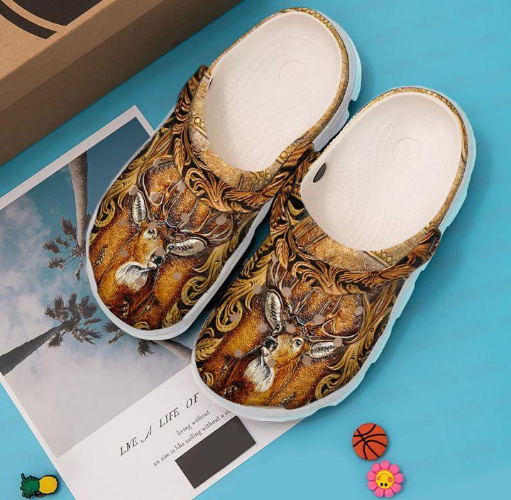 Hunting Deer Season Crocs Clog Shoes