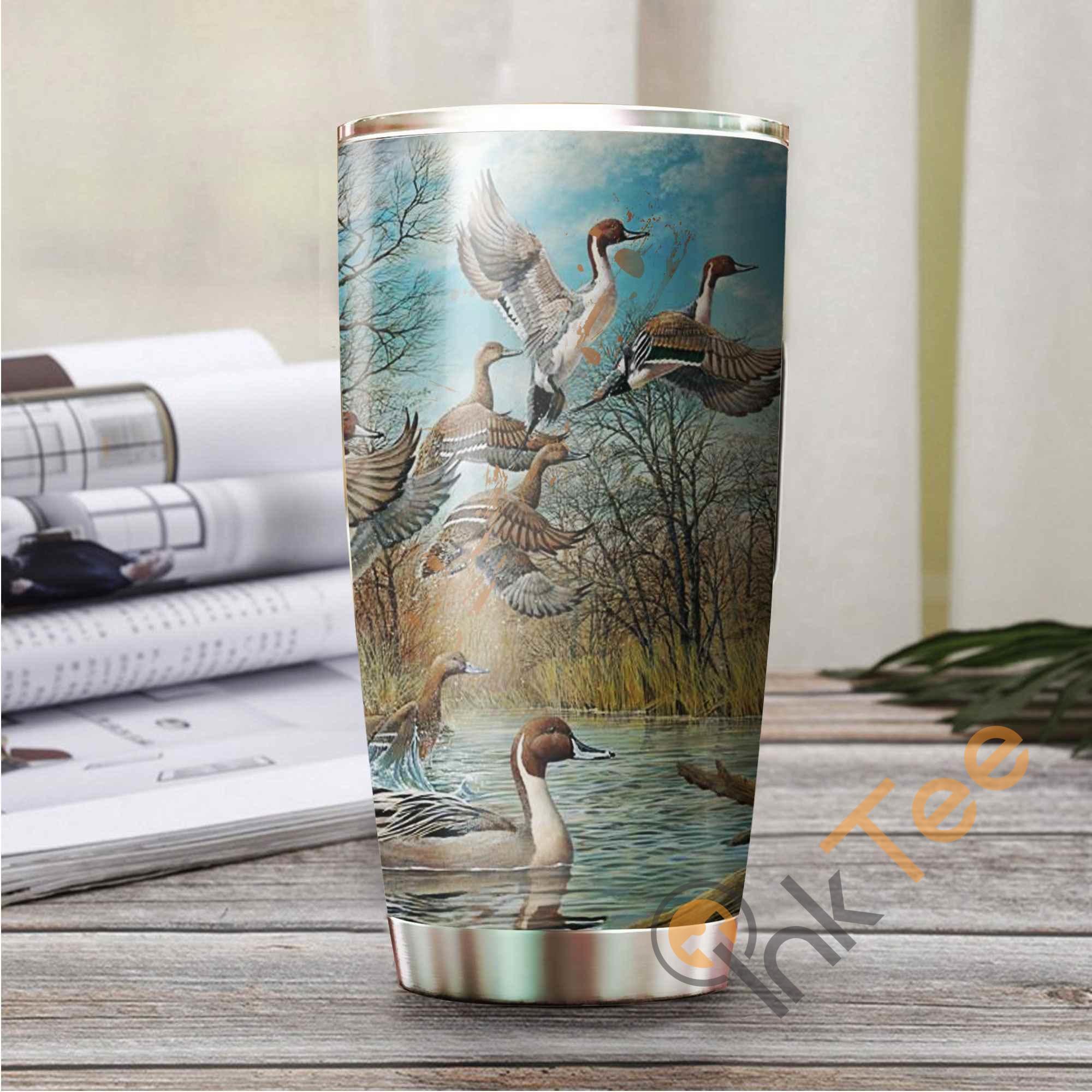 Hunting Duck Amazon Best Seller Sku 3783 Stainless Steel Tumbler