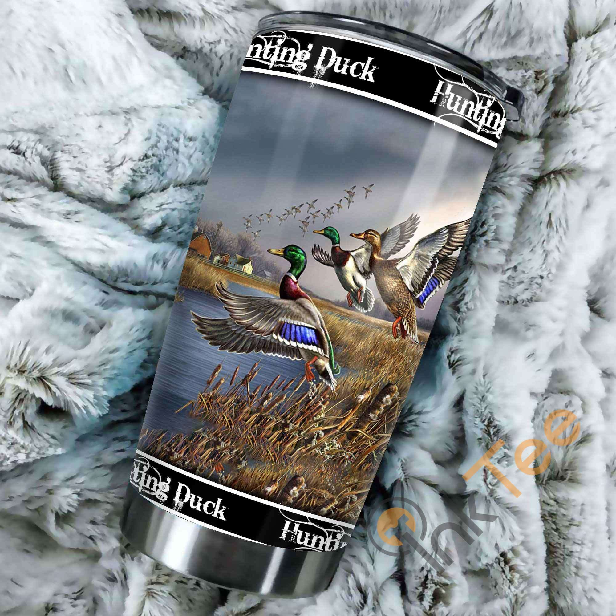 Hunting Duck Stainless Steel Tumbler