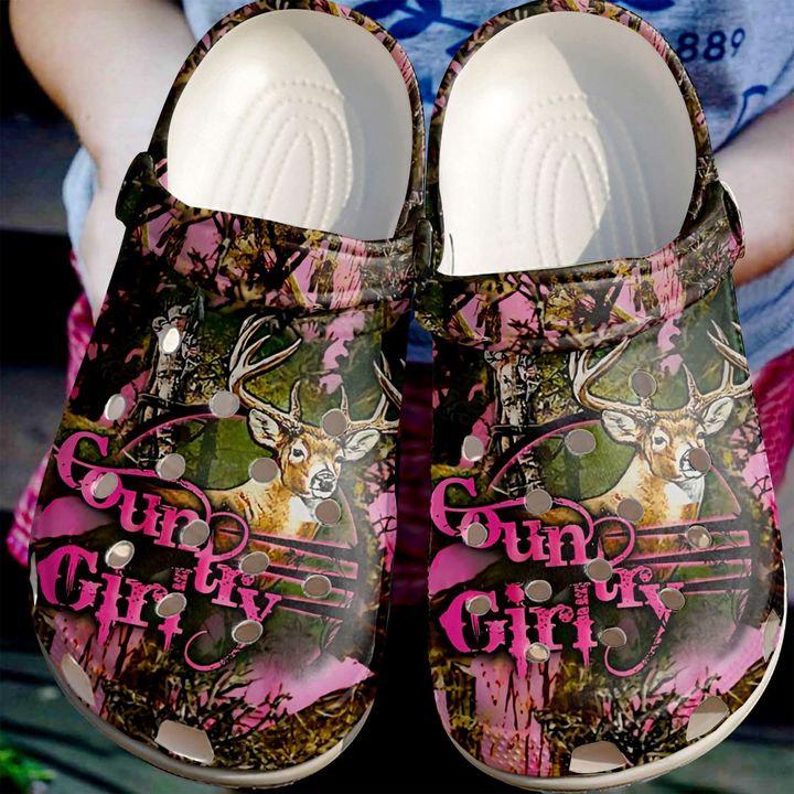 Hunting Girl Crocs Clog Shoes