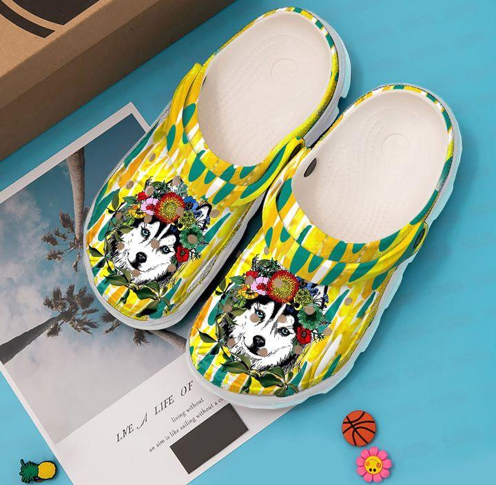 Husky Mom Crocs Clog Shoes