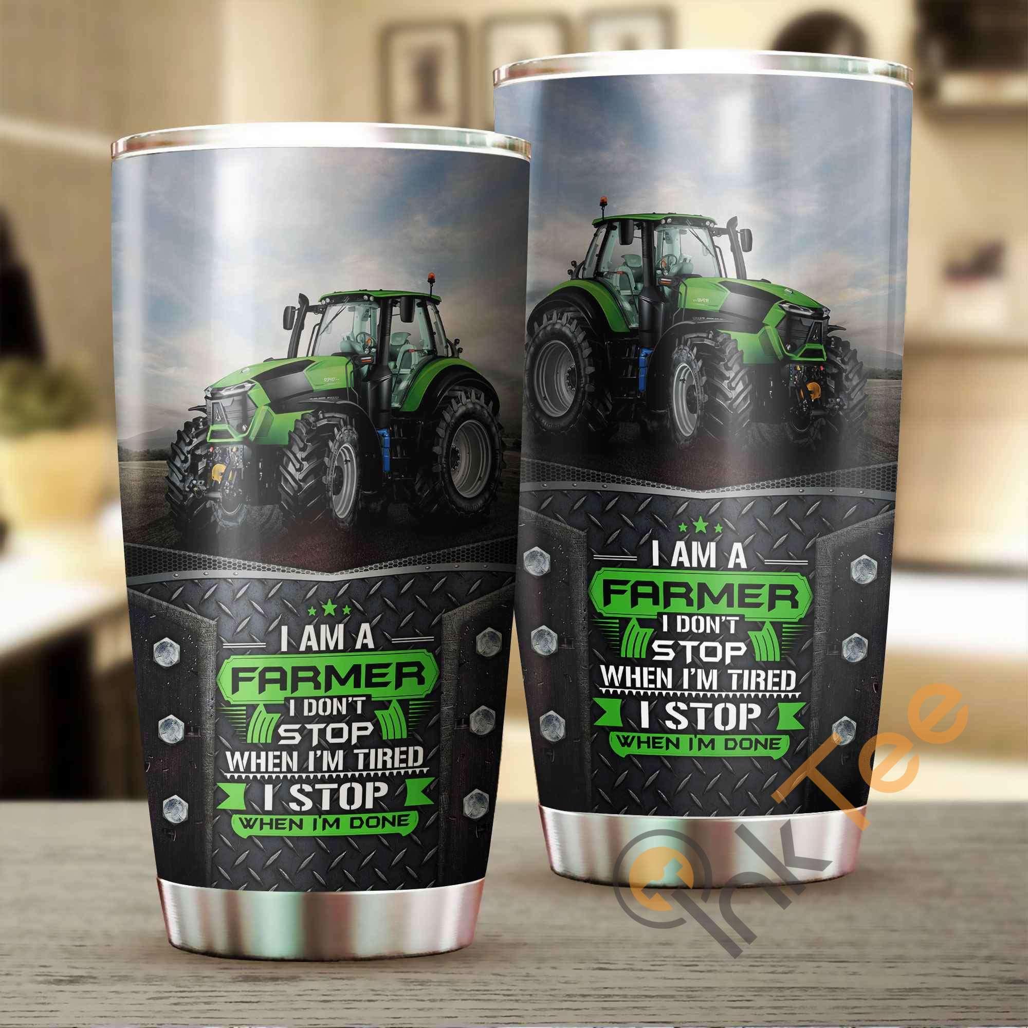 I Am A Farmer Amazon Best Seller Sku 2516 Stainless Steel Tumbler