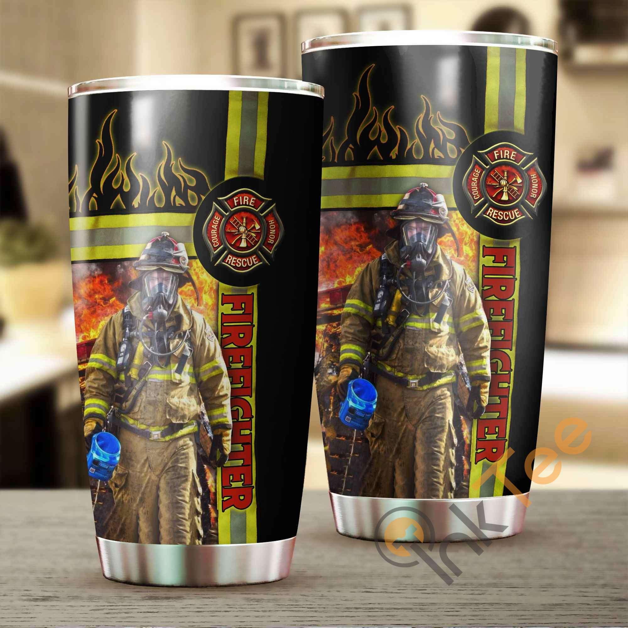 I'm A Firefighter Amazon Best Seller Sku 3010 Stainless Steel Tumbler