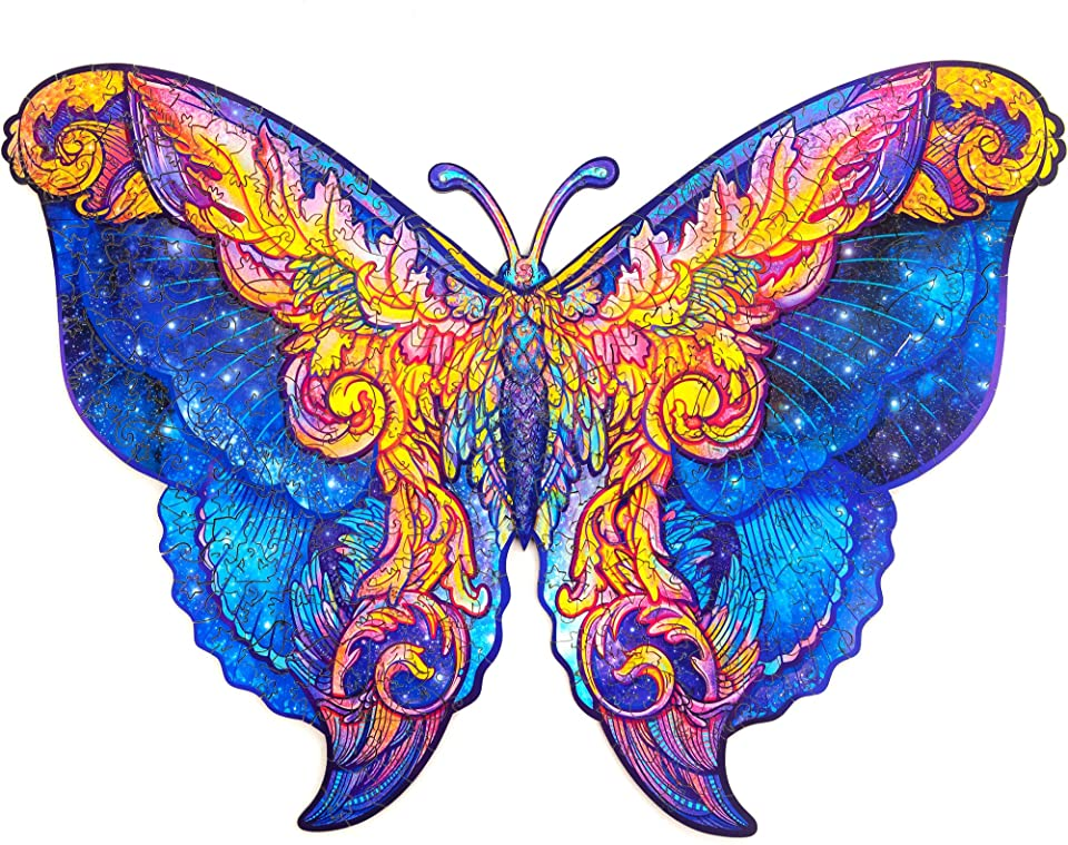 Intergalaxy Butterfly Jigsaw Puzzle