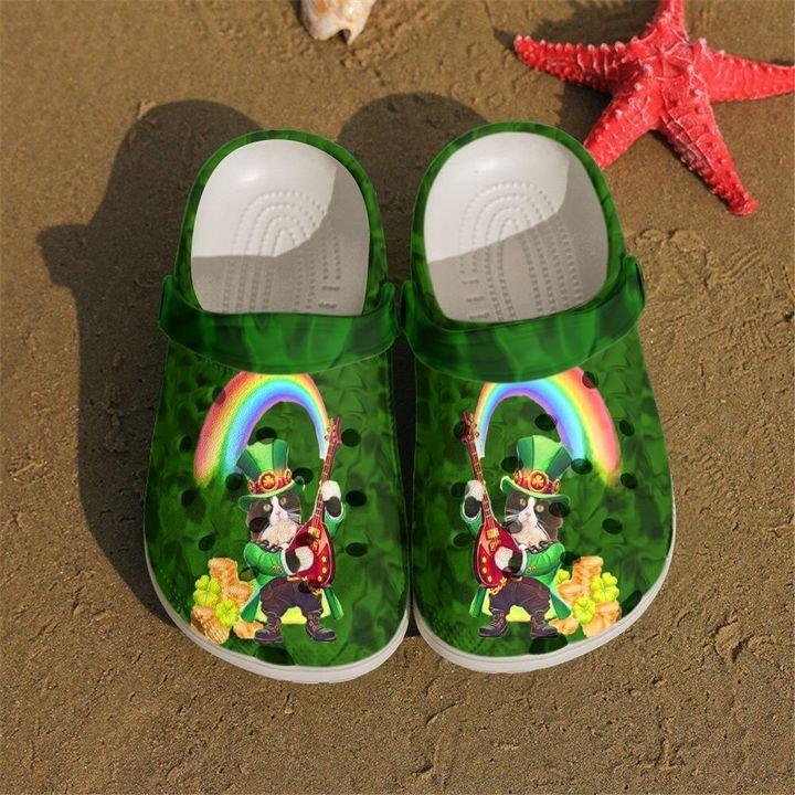 Irish Cat Crocs Clog Shoes