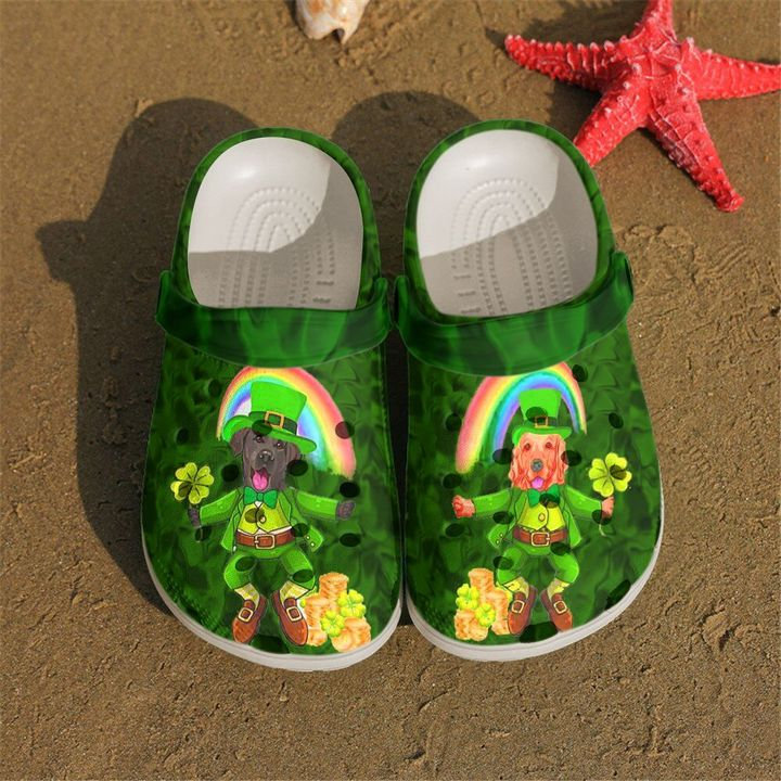 Irish Dog Crocs Clog Shoes