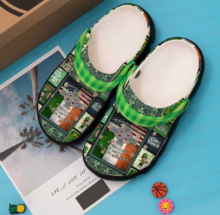 Irish Pride Crocs Clog Shoes