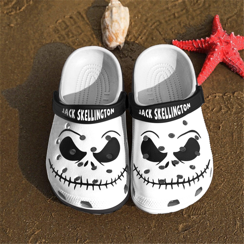Jack Skellington Crocband Crocs Clog Shoes