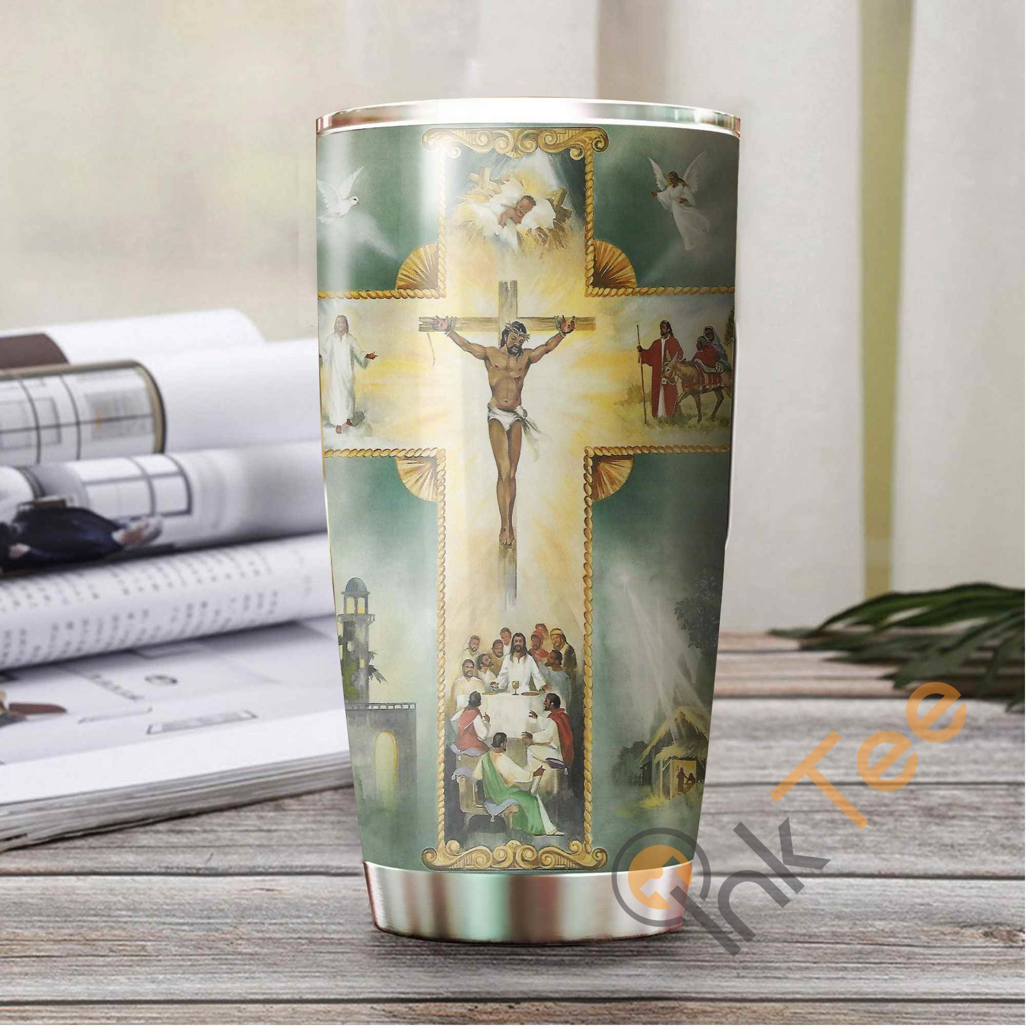 Jesus Art Amazon Best Seller Sku 3377 Stainless Steel Tumbler