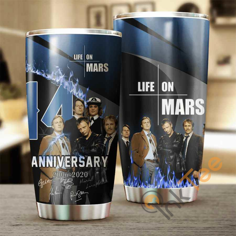 Life On Mars 14 Years Anniversary Cup Amazon Best Seller Sku 3936 Stainless Steel Tumbler