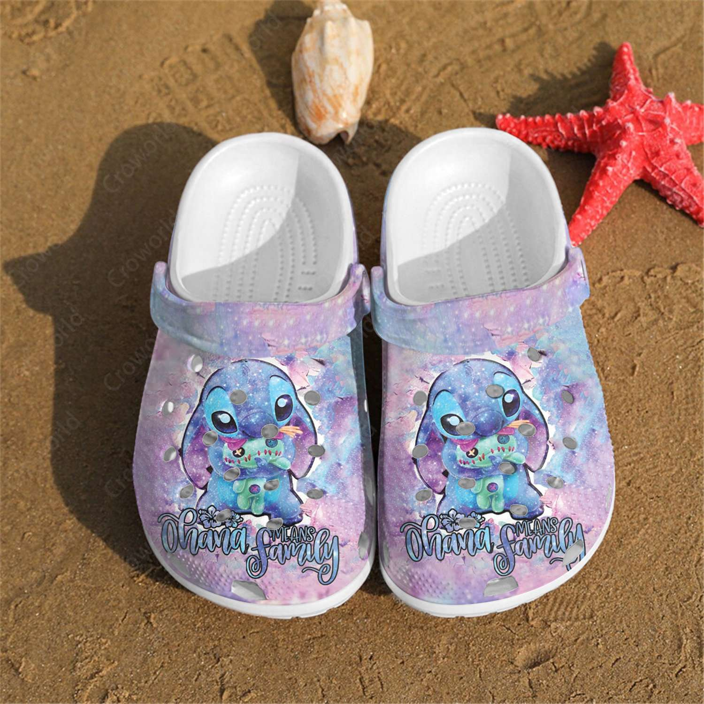 Lilo & Stitch Crocs Clog Shoes