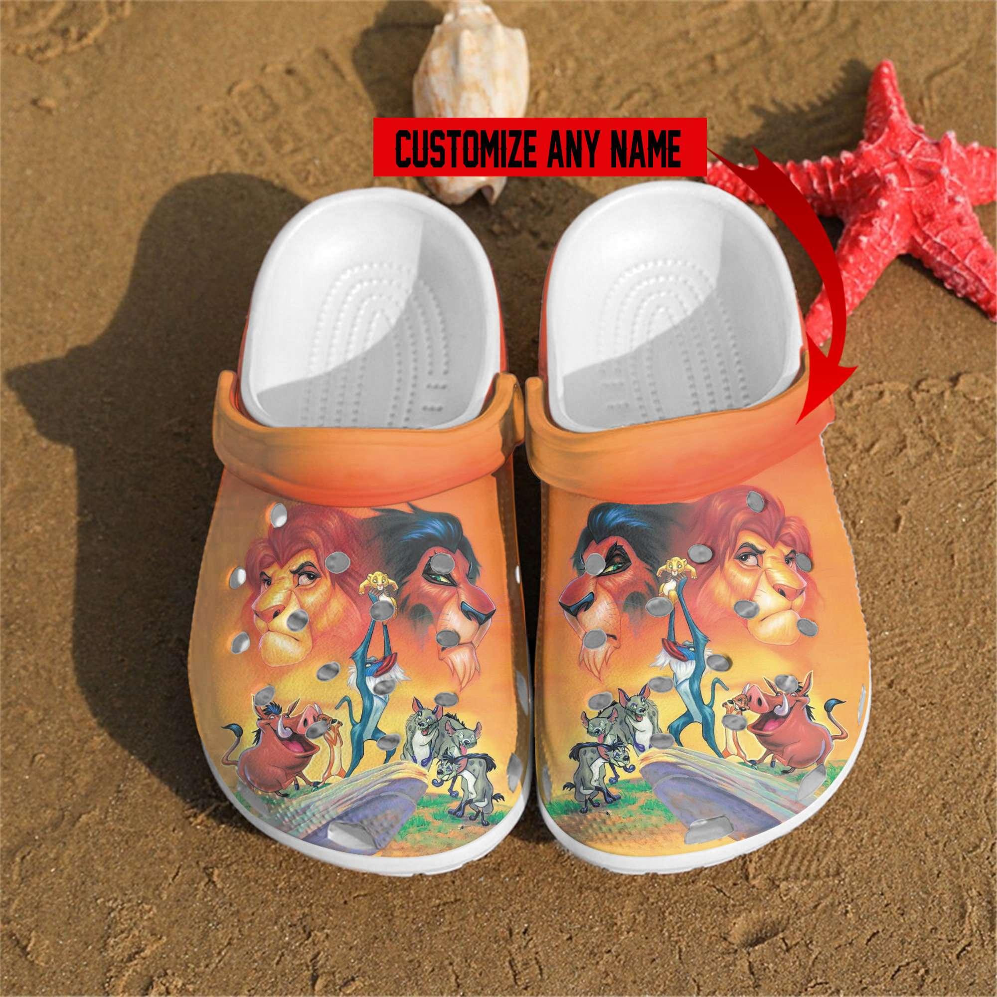 Lion King Crocs Clog Shoes