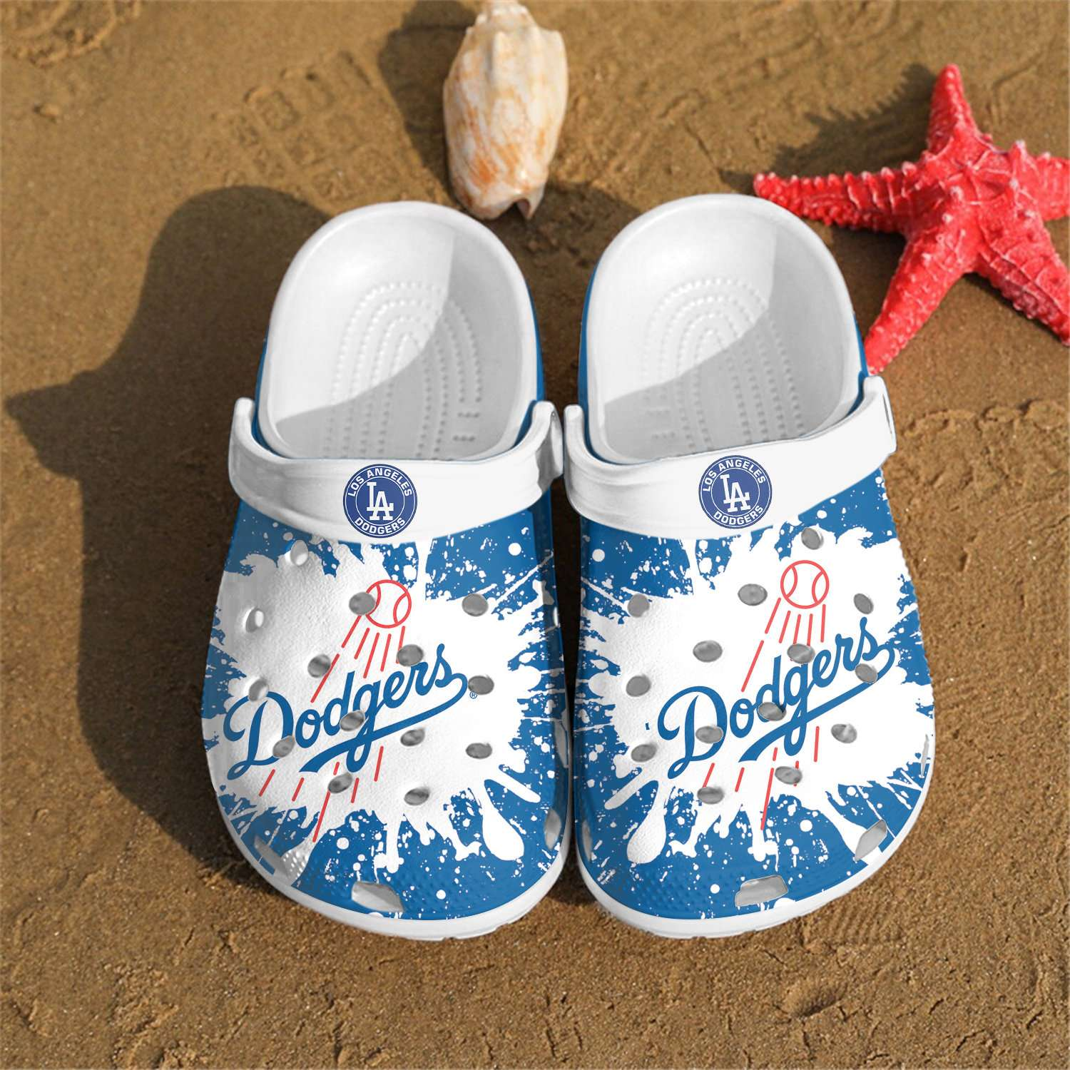 Los Angeles Dodgers Crocs Clog Shoes