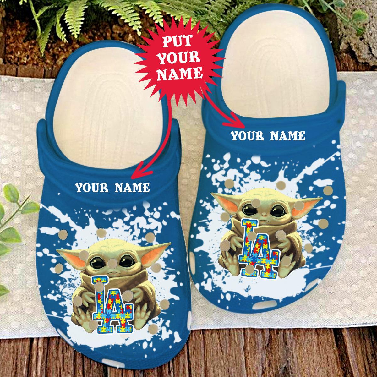 Los Angeles Dodgers Crocs Clog Shoes