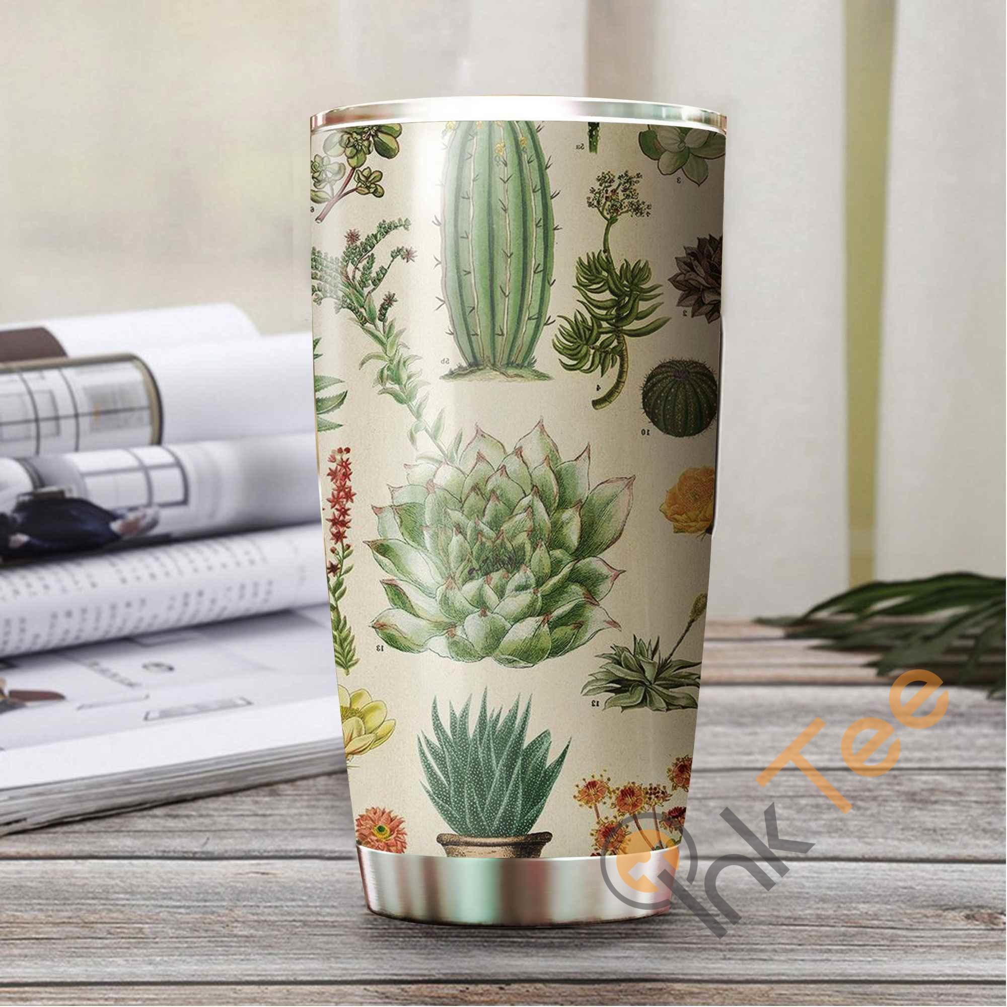 Love Cactus Amazon Best Seller Sku 2992 Stainless Steel Tumbler