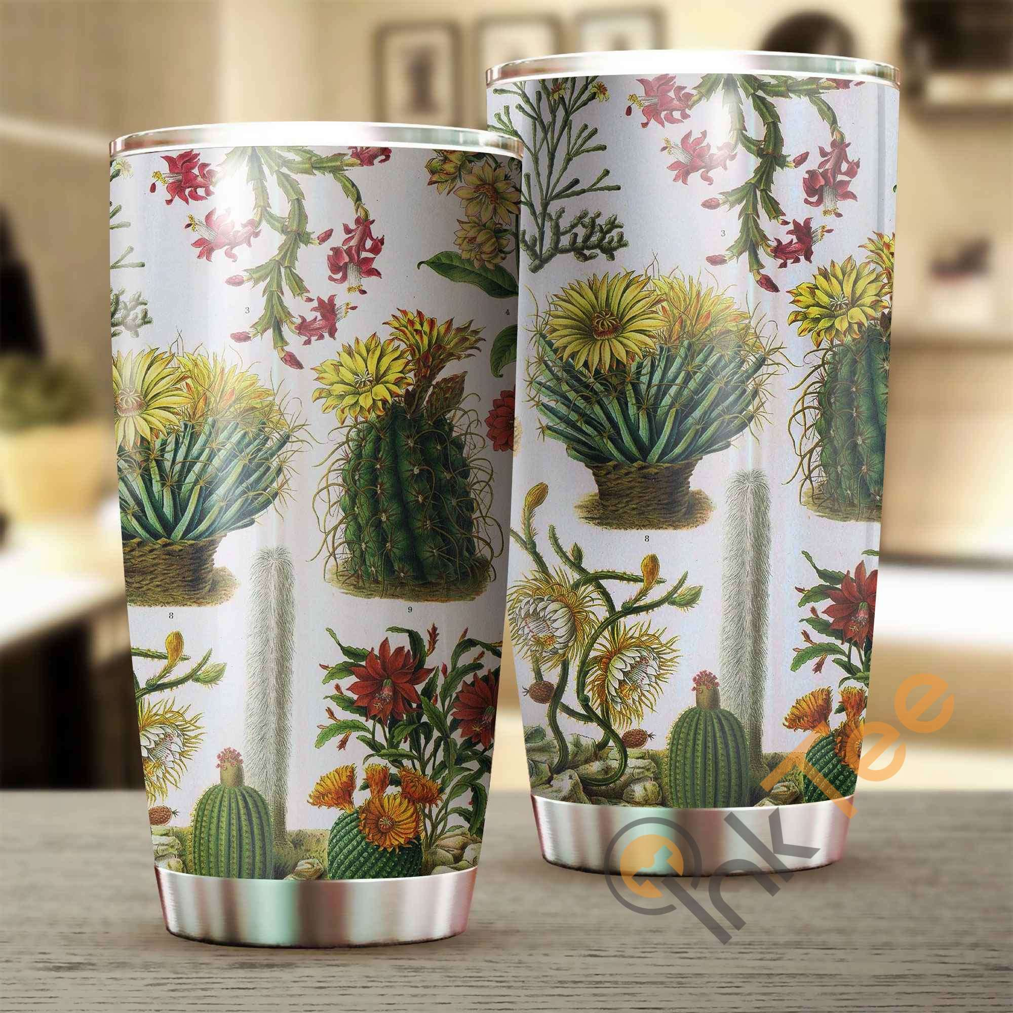 Love Cactus Amazon Best Seller Sku 3242 Stainless Steel Tumbler