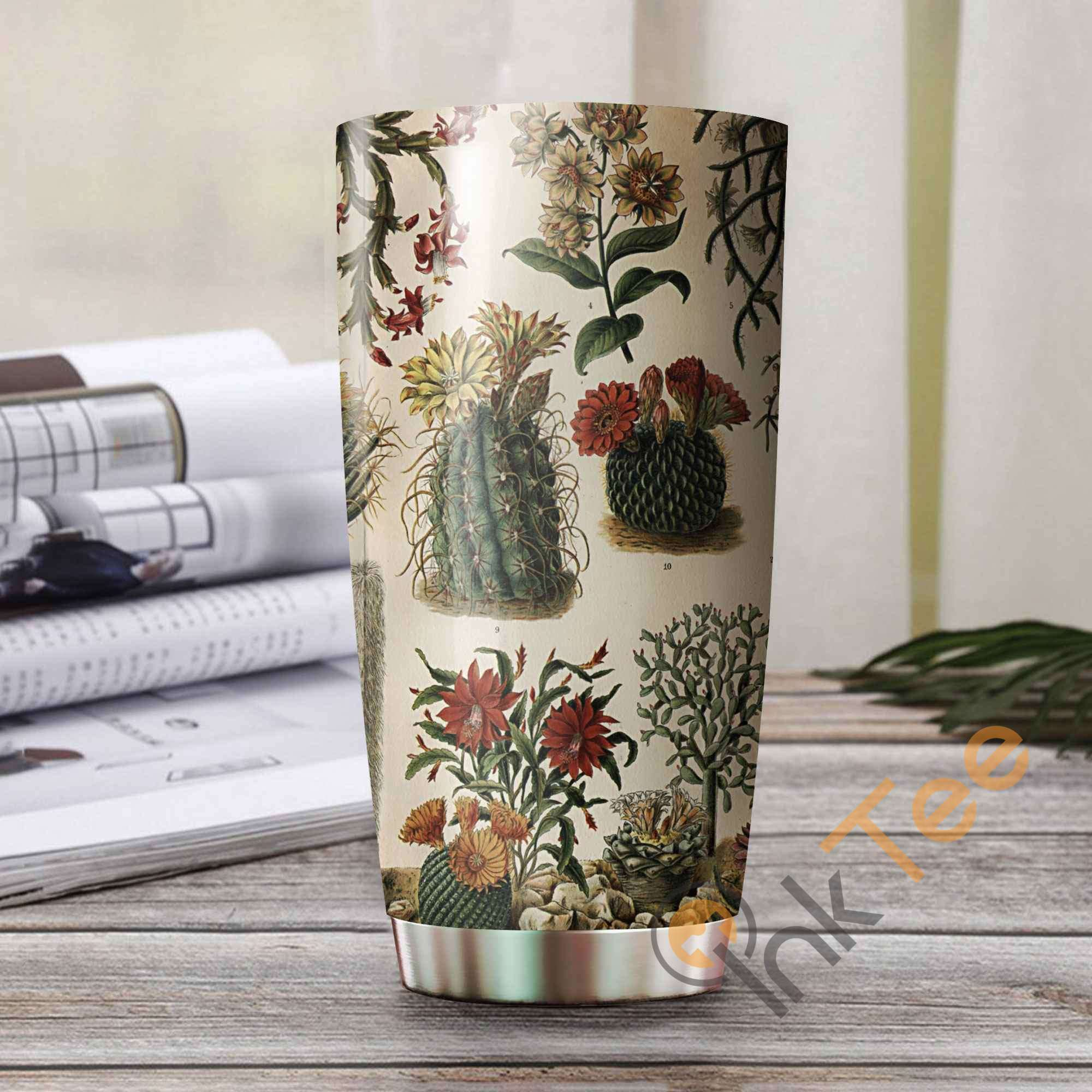 Love Cactus Amazon Best Seller Sku 3369 Stainless Steel Tumbler