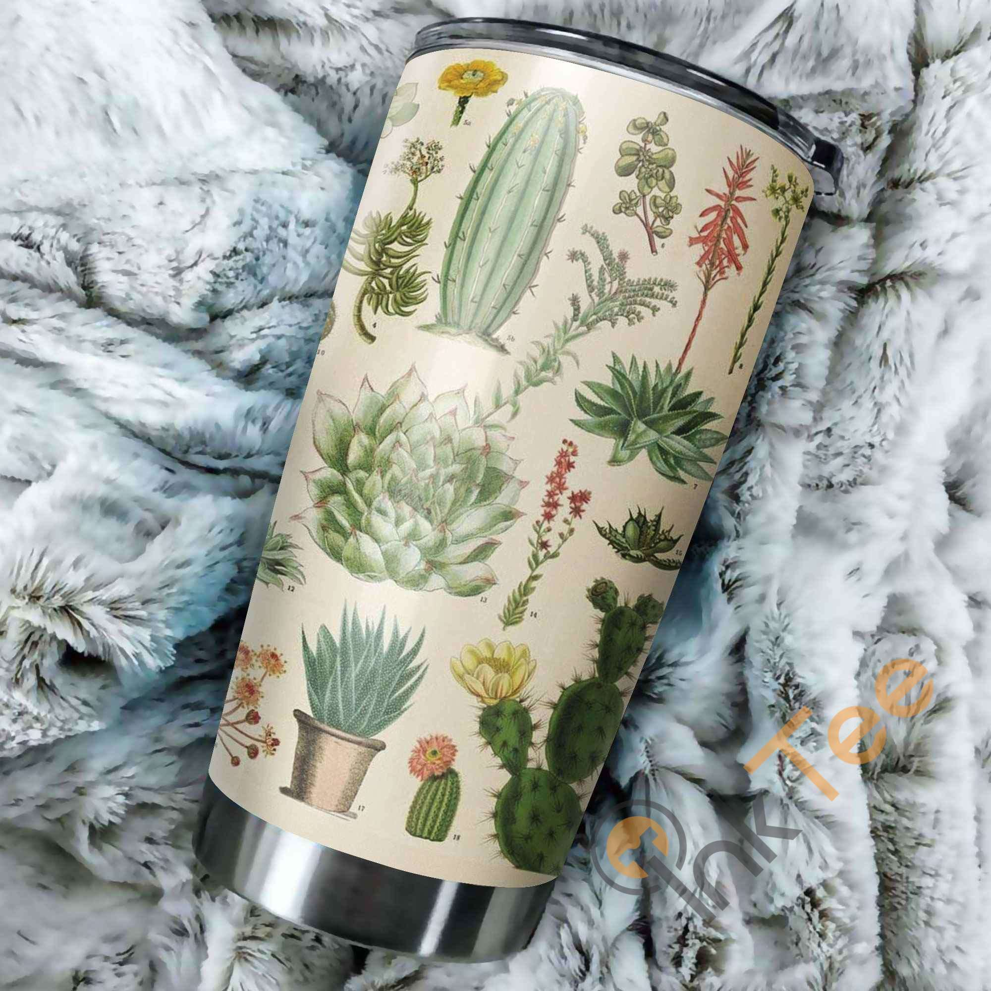 Love Cactus Amazon Best Seller Sku 3857 Stainless Steel Tumbler