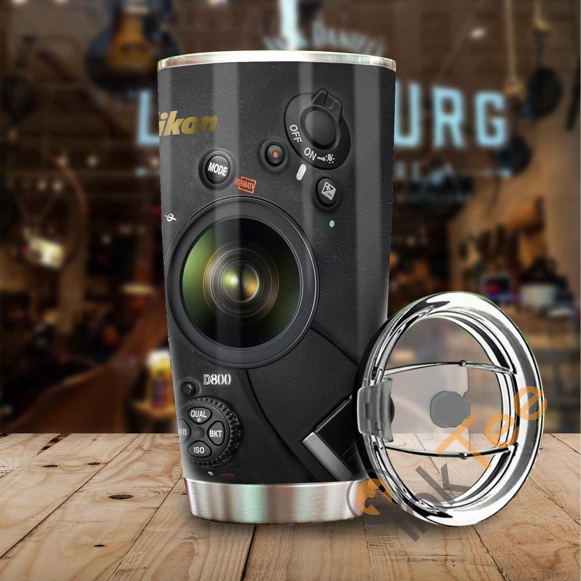 Love Camera Stainless Steel Tumbler