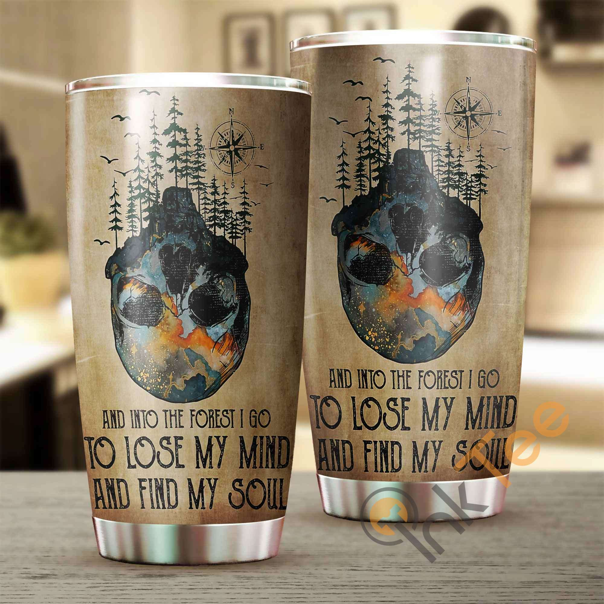 Love Camping Stainless Steel Tumbler