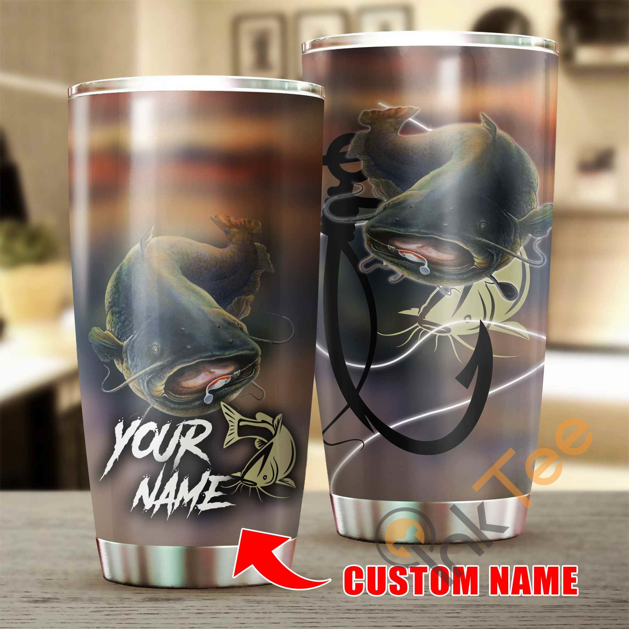 Love Catfish Stainless Steel Tumbler