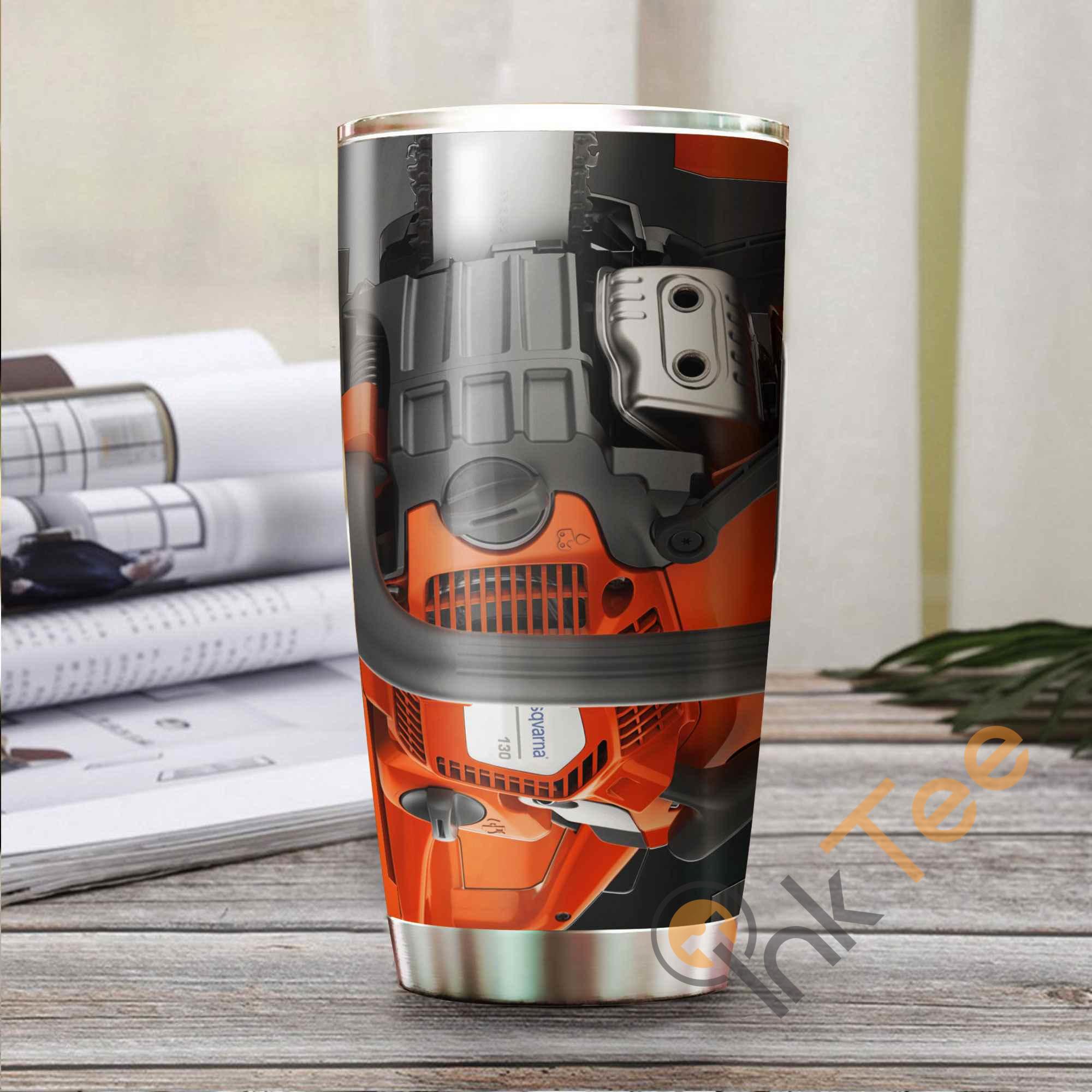 Love Chainsaw Amazon Best Seller Sku 3488 Stainless Steel Tumbler