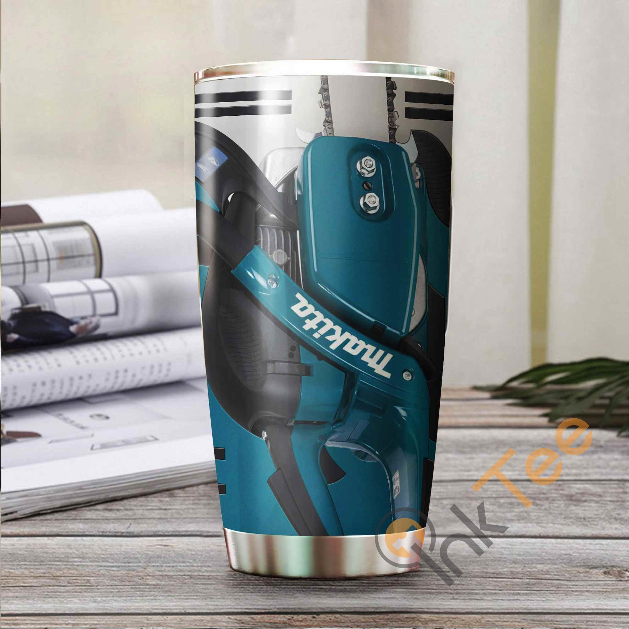 Love Chainsaw Amazon Best Seller Sku 3779 Stainless Steel Tumbler