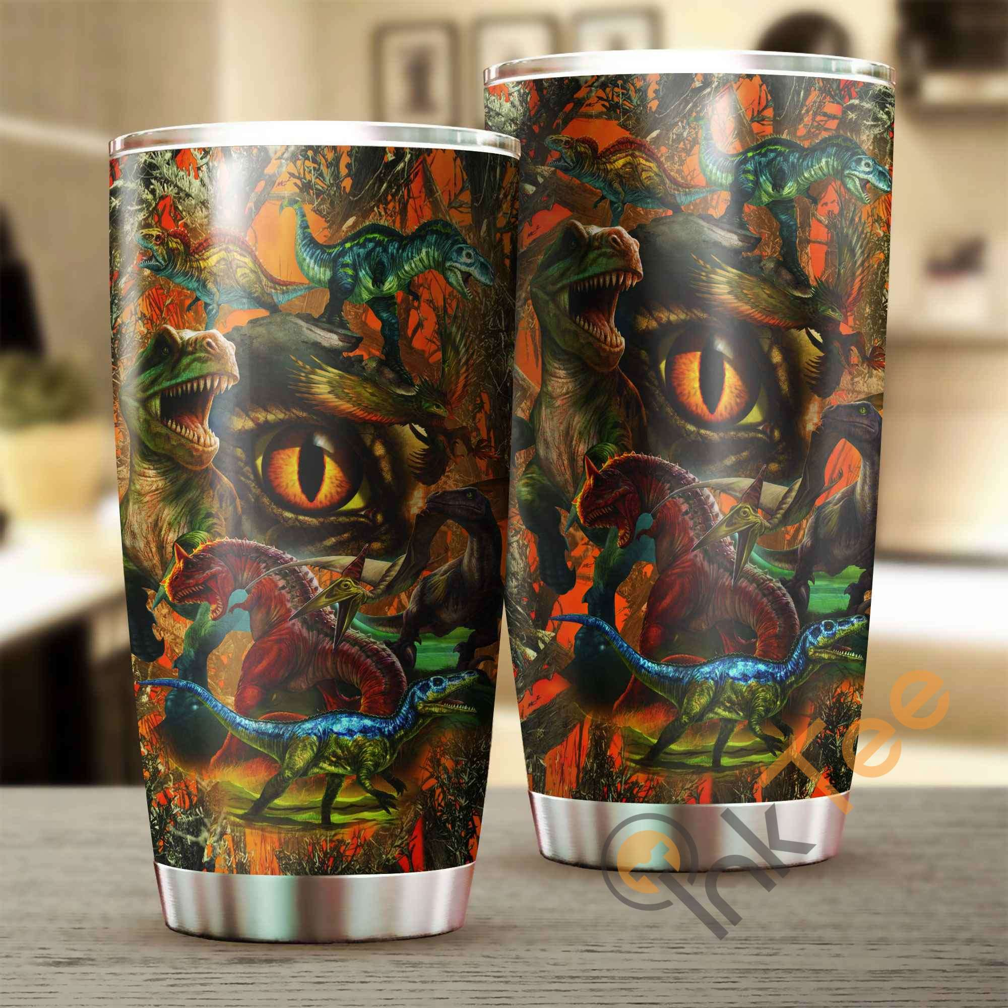 Love Dinosaur Amazon Best Seller Sku 3016 Stainless Steel Tumbler