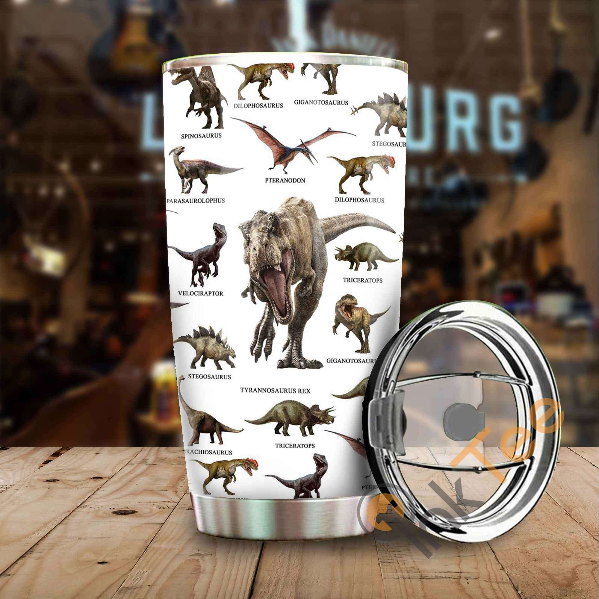 Love Dinosaur Amazon Best Seller Sku 3047 Stainless Steel Tumbler