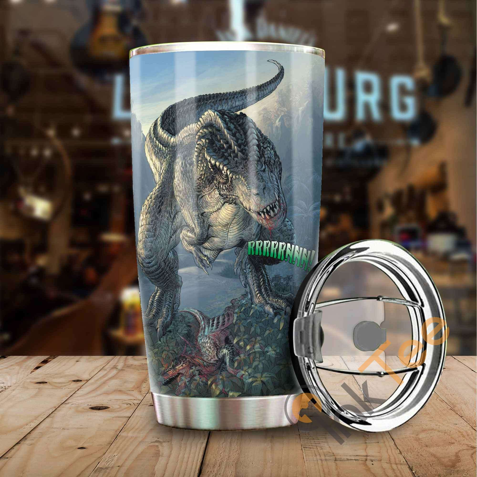 Love Dinosaur Amazon Best Seller Sku 3166 Stainless Steel Tumbler