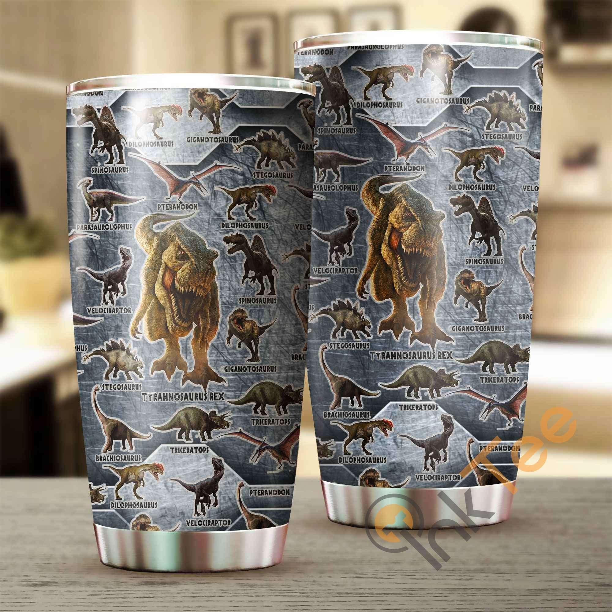 Love Dinosaurs Amazon Best Seller Sku 3401 Stainless Steel Tumbler