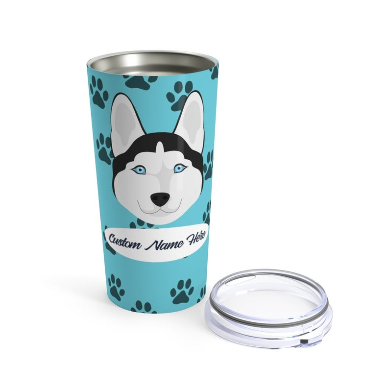Love My Siberian Husky Stainless Steel Tumbler